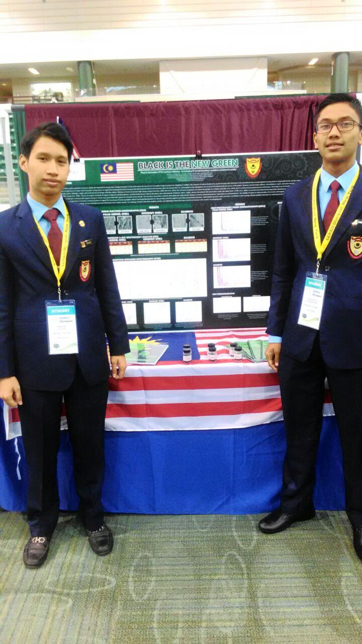 2 orang pelajar SDAR iaitu saudara Firdaus dan juga Faris Putra telah mewakili SDAR dalam Genius International High School Project Olympiad 2016 at SUNY Oswego, New York, USA. Program ini berlangsung dari 12  hingga 17 Jun 2016.