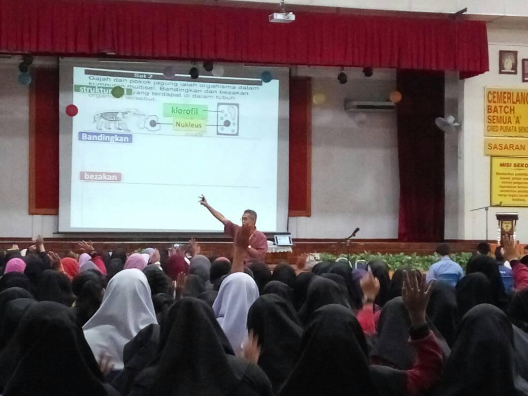 Program Kolaborasi Bengkel Sains PT3 Fasa 1/2017 telah dianjurkan oleh panitia SAINS SDAR. Program ini melibatkan penglibatan 15 buah sekolah sekitar Seremban.